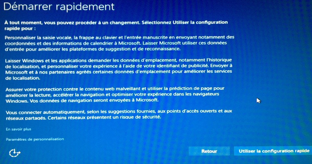Windows 10 - Démarrer rapidement