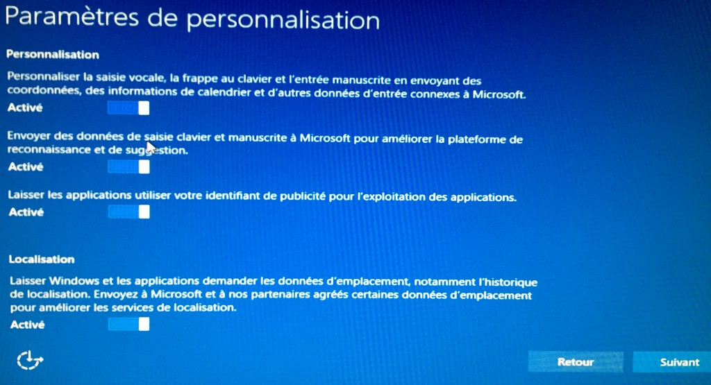 Windows 10 - Personnalisation 1
