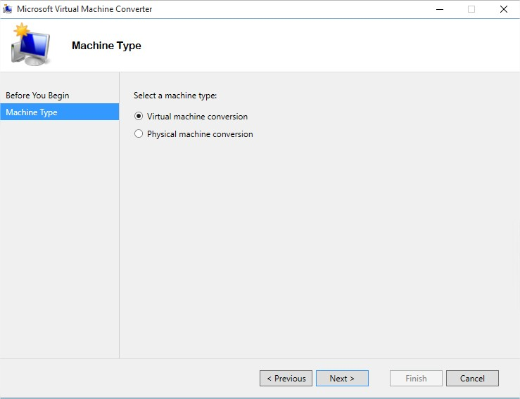 Microsoft Virtual Machine Converter - Image 2