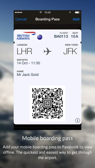 Voyager_sans_papiers_passbook british airways