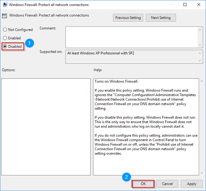 TUTO] - GPO: How to disable the Windows firewall by GPO - SYS Advisor
