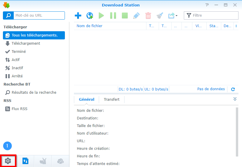 TUTO] - Synology : How to set up notifications by mail in Download