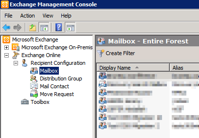 Tuto exchange 2010 comment connecter exchange online exchange management console sys - Exchange management console ...